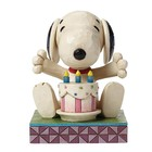 Peanuts (Jim Shore) Happy Birthday (Snoopy)