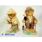 Cherished Teddies Holmes & Watson