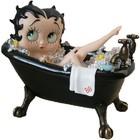 Fleischer Studios Betty Boop in Tub BLACK