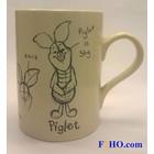 Disney Scratch Piglet Mug