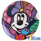 Disney Britto Minnie Plate