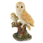 Studio Collection Barn Owl Mother Baby Chick