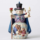 Disney Traditions Beauty and the Beast Snowman