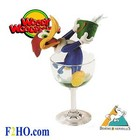 Demons et Merveilles Woody Woodpecker in Glass