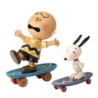 Peanuts (Jim Shore) Charlie Brown and Snoopy (Set 2)