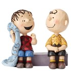 Peanuts (Jim Shore) Charlie Brown and Linus