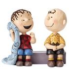 Peanuts (Jim Shore) Charlie Brown and Linus