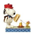 Peanuts (Jim Shore) Snoopy w. Woodstock Campfire