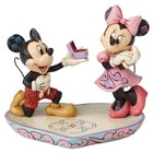 Disney Traditions Mickey Proposing to Minnie Mouse