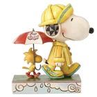 Peanuts (Jim Shore) Snoopy and Woodstock (Friends Through Rain Or Shine)