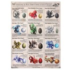 Anne Stokes Wyrmling & Egg Identification Chart 50x70