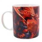 Anne Stokes Fire Dragon Mug