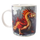 Anne Stokes Golden Mountain Dragon Mug