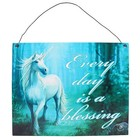 Anne Stokes Forest Unicorn Metal Sign
