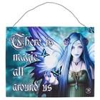 Anne Stokes Mystic Aura Metal Sign