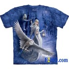 The Mountain T Shirt Midnight Messenger Owl (Anne Stokes)