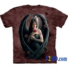The Mountain T Shirt Angel Rose  (Anne Stokes)