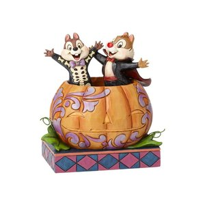 Disney Traditions Chip & Dale in Pumpkin (Tiny Tricksters)
