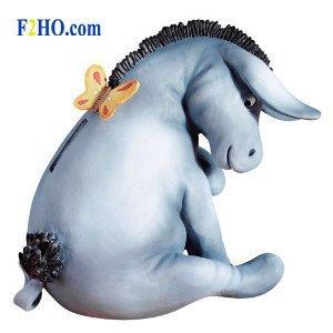 Classic Pooh (BO) Eeyore Money Bank (Classic Pooh)