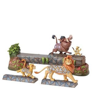 Disney Traditions Simba, Timon, & Pumbaa (Carefree Camaraderie)