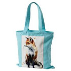 Sarah Stokes Art Fox Canvas Bag