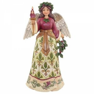 Jim Shore's Heartwood Creek Victorian Angel  (Jolly Holly Days)