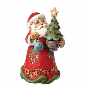 Jim Shore's Heartwood Creek 15th Anniversary Santa (Hanging ornament)