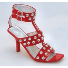 Just the Right Shoe Red Hot