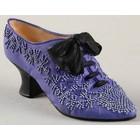 Just the Right Shoe French Velvet