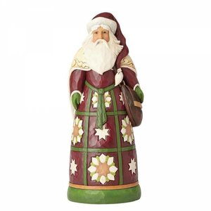 Heartwood Creek Santa Statue