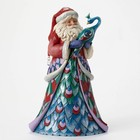 Heartwood Creek Santa-with-Peacock