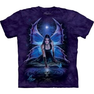 The Mountain T Shirt Only Immortal Flight Fairy  (Anne Stokes)