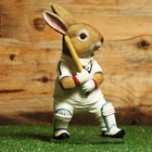 Studio Collection Cricket Playing Rabbit (Naturecraft Collection)