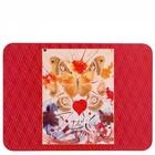 Hallmark Fine Artists Collection (Dali) Place  Mat (Butterfly Valentine ) Set/4