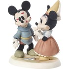 Disney Precious Moments Mickey & Minnie (You're Sew Wonderful)