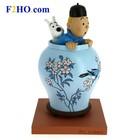 Tintin (Kuifje) Kuifje & Bobbie in de Chinese vaas