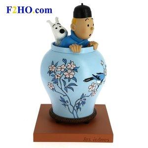 Tintin (Kuifje) Kuifje & Bobby in de Chinese vaas