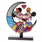 Disney Britto Mickey Mouse and Minnie Mouse on Moon