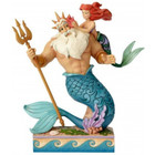 Disney Traditions Ariel & King Triton