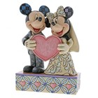 Disney Traditions Mickey & Minnie (Two Souls, One Heart)