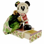 Disney Traditions Mickey Dressed as Santa with Bag