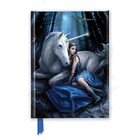 Anne Stokes Notebook Blue Moon