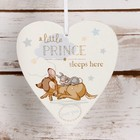 Disney Magical Moments Beginnings Heart Plaque 'Little Prince'