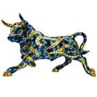 Barcino Design Bull Carnival Blue  (Large)