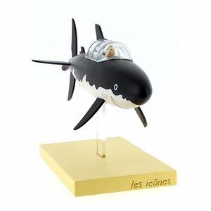 Tintin (Kuifje) Tintin and Snowy in the Submarine Shark (2018)