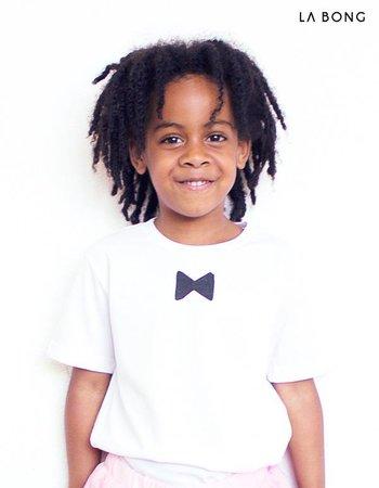 KID BOWTIE WHITE