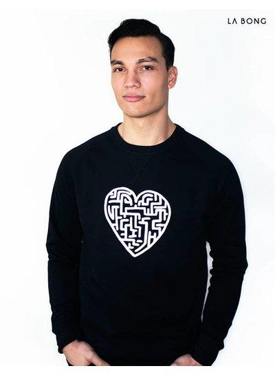 HEART MAZE BLACK