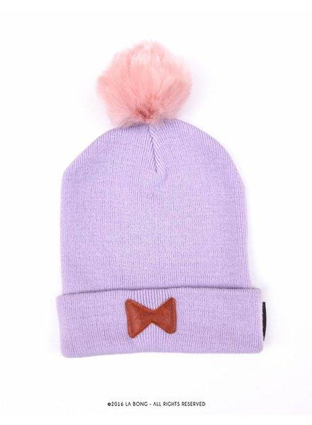 Bowtie hat, lilac