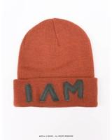 I AM hat, green