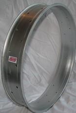 "alloy rim DW100, 26"", silver (matt) anodized"